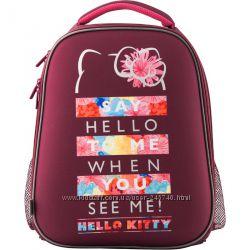 Рюкзак школьный каркасный Kite Education Hello Kitty HK19-531M