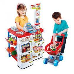 Детский игровой набор Супермаркет с тележкой 668-01, 668-03, 668-16, 668-18
