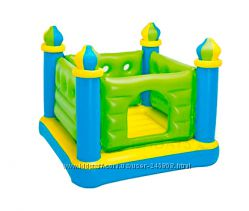 Детские надувные игровые батуты Intex 48260, 48264, 48259, 48257