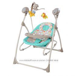 Детское кресло-качалка шезлонг Carrello Nanny CRL-0005, музыка, пульт