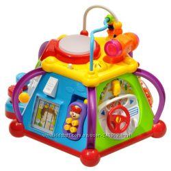 Развивающая обучающая игрушка Мультибокс Happy Small World для малышей