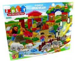 Любимый детский конструктор Зоопарк 5096, 5095, 5091, 5092, 5085