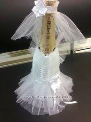 Продам свадебные подарочные бутылки