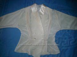 Блуза кремовая