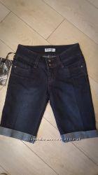 Продам джинсовые бриджи