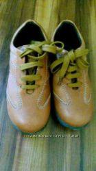 Кожаные новые ботинки chicco