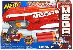 Бластер Нерф Элит Мега Магнус Nerf N-Strike Elite Mega Magnus Blaster