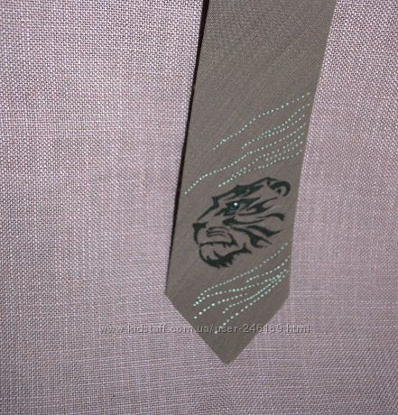 Продам галстуки из батиста с росписью