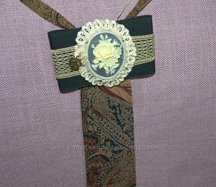 Продам галстуки из винтажного штапеля