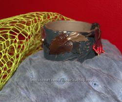Шкатулки для мелочей, кожа, ручная работа. Для себя или как подарок.