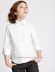 Новая рубашка Marks&Spencer для девочки 13-14