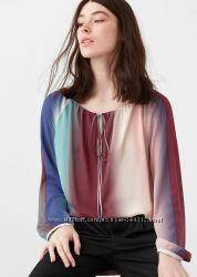 Sale Шифоновая блуза Mango XS-S