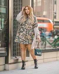 Скидка Свободное платье H&M  48-50-52-54-56