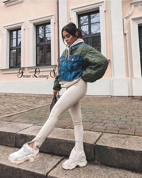 Модная укороченная курточка Zara р. S-M , М-L