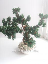 Дерево из бисера. Бонсай.