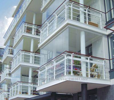 Окна металлопластиковые, балконы пластиковые, балконы с выно.