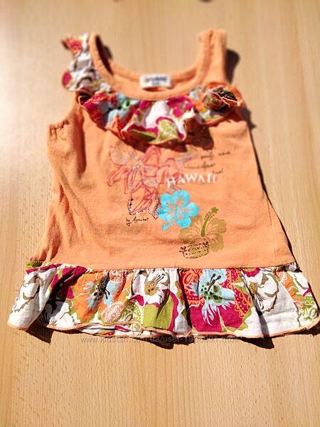 футболки, платья для девочки 3-4 года
