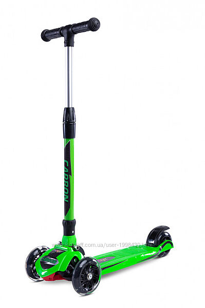 Самокат Caretero Toyz зелёный