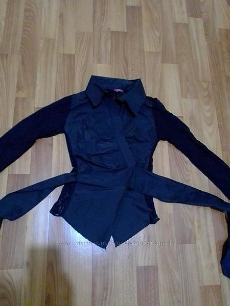 Черная рубашка Fonda