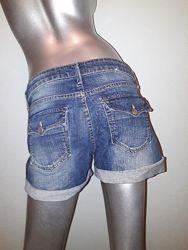 Шорты джинсовые женские, летние шорты, шортики на девушку размер EUR 40