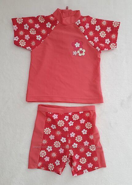 Купальный костюм Matalan купальник футболка шорты