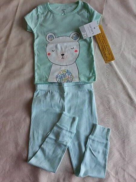 новые хлопковые пижамы на 2  3 и 4 года Carters США