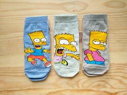 Носки Симпсоны Шкарпетки Носки с рисунком Набор носков