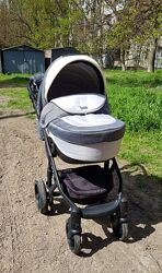 Детская коляска 2в1 adamex barletta
