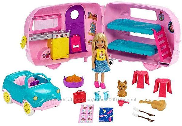 Набор Барби Челси кемпер с трейлером - Barbie Club Chelsea Camper