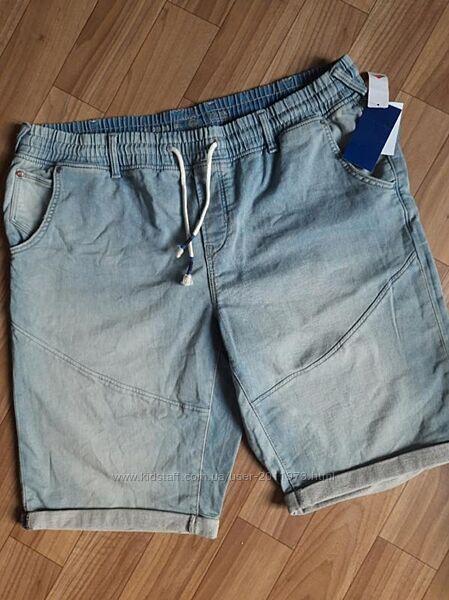 Джинсовые шорты батал,  бренд C&A