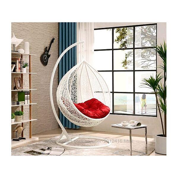Кресло кокон из ротанга Мери Цвет ротанга и цвет подушки любой от производи