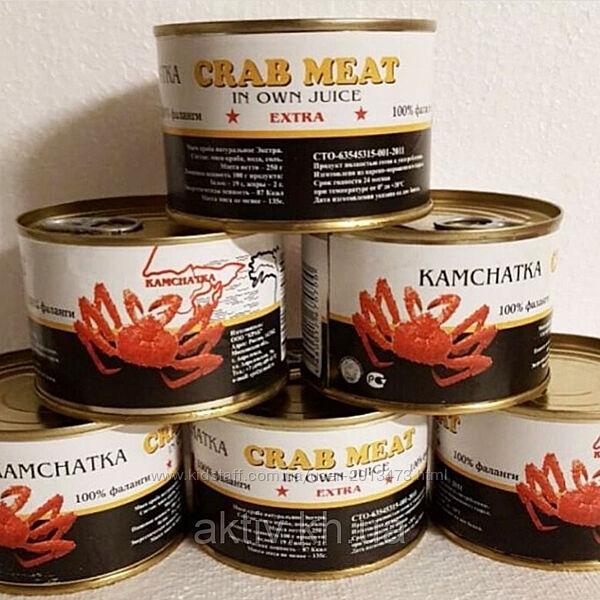 Мясо Краба Chatka 240г оригинал, россия