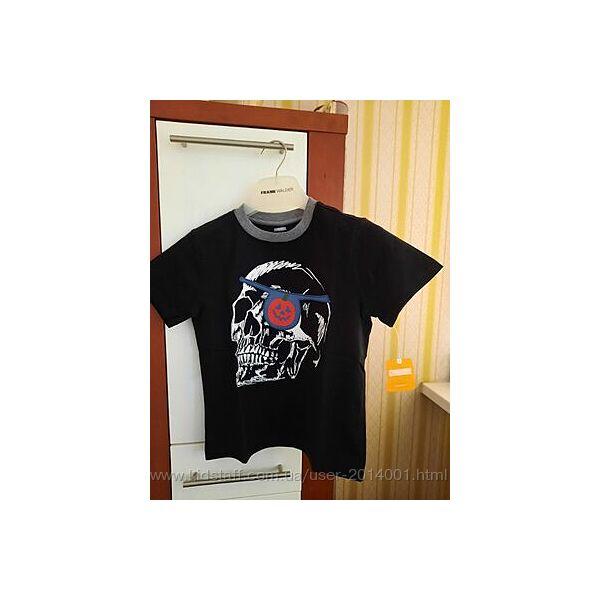 Брендовая, новая с бирками футболка Gymboree,  р.7-8 лет