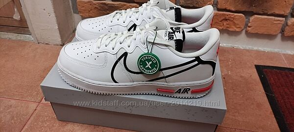 Кросcовки Nike Air Force 1 React White