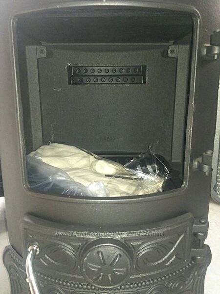 Чугунная Печь Камин Буржуйка Чавунна піч NORDFLAM PALESTRO 8,4 кВт