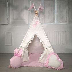 Вигвам, игровая палатка детская  коврик подушечка