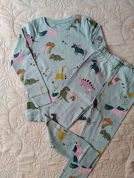 Пижама Некст на 4-5 лет, хлопок
