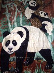 Покрывало акриловое Solaron с пандами двойное