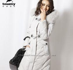 Пуховик Towmy светло-серый M-L