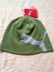Двусторонняя деми шапка Puma на мальчишку 8-12 лет