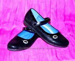 Детские туфли черные W. Niko размеры 31-36