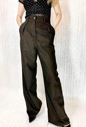 Штаны брюки клешные широкие
