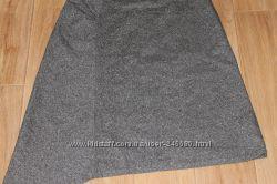 Ассиметричная шерстяная юбка BANANA REPUBLIC