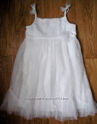 Белоснежное платьице на 3 года