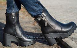 Стильные зимние ботинки, все размеры