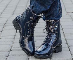 Зимние ботинки натуральная кожа ла, к все размеры