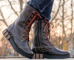 Модные зимние ботинки, разные цвета и размеры