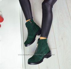Ботиночки натуралочка разные цвета