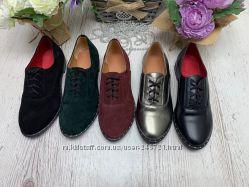 Кожаные туфли, разные варианты