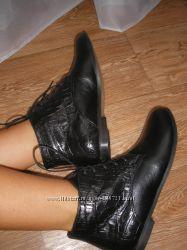 Кожаная обувь от украинской фабрики